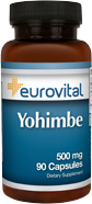 Yohimbe  500mg 90 Capsules (EV)